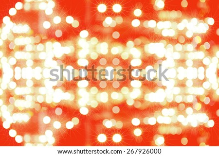 Bogey background from Chris Thomas, Festival,and the New Year.  - stock photo
