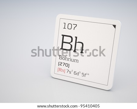 Bohrium - element of the periodic table