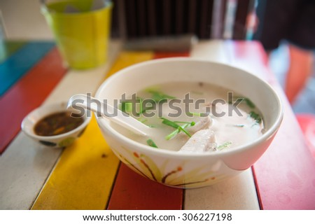 Boiled fish and cooking healthy meals.  - stock photo