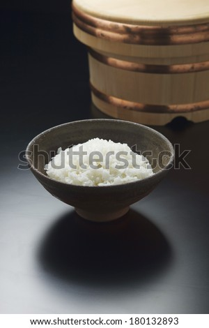 Boiled-rice boxes of Japan