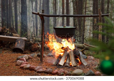Boiling in the forest