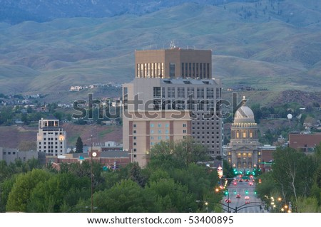 Boise, Idaho - stock photo