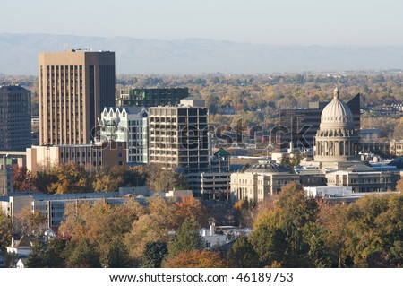 Boise, the capitol city of Idaho