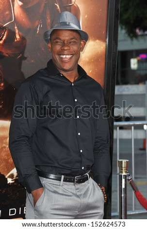 "Bokeem Woodbine at the world premiere of his movie ""Riddick"" at the Regency Village Theatre, Westwood. August 28, 2013  Los Angeles, CA"