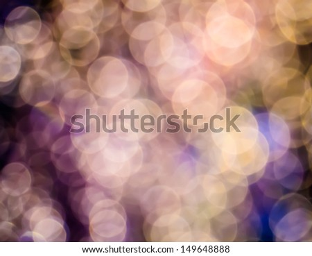 Bokeh abstract background in purple, pink and blue color