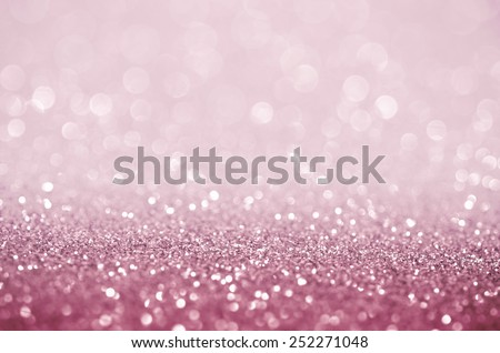 Bokeh abstract background wallpaper glitter pink diamond for wedding design - stock photo
