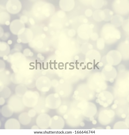 Bokeh Abstract background with glowing magic soft holiday lights, Light silver dimond blur effect - stock photo