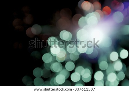 bokeh abstract blurred light background