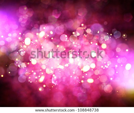 Bokeh. Abstract natural backgrounds - stock photo