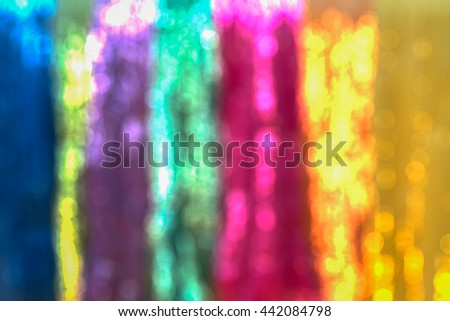 Bokeh abstract rainbow colorful background