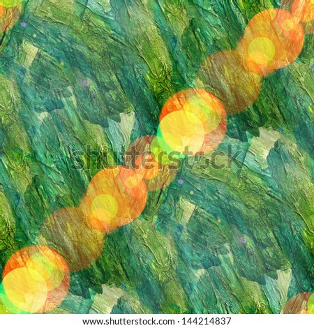 bokeh abstract watercolor green and art seamless texture, hand painted background