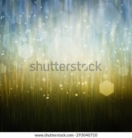 Bokeh background - stock photo