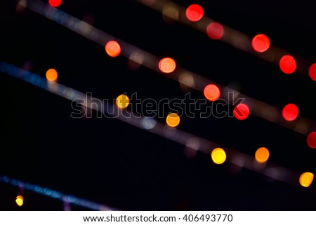 Bokeh Background & Abstract Background