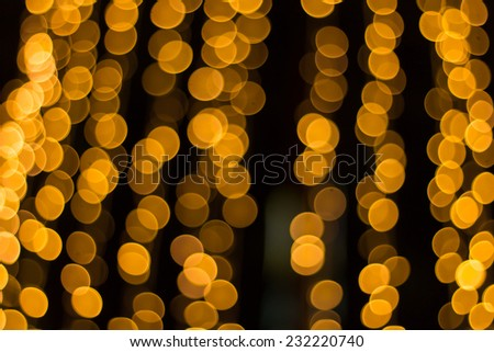 Bokeh background. Festive abstract background with bokeh defocused lights