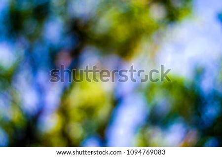 Bokeh blurry abstract background
