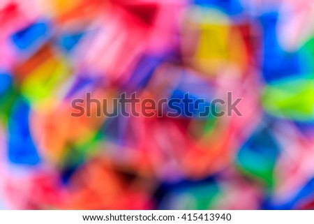 bokeh color background