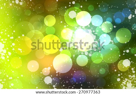 bokeh colorful lights background