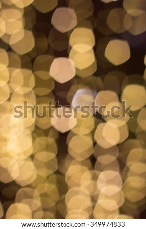 bokeh defocused light golden background ,abstract background