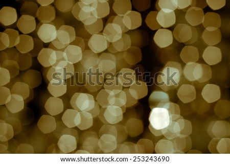 bokeh defocused lights abstract background - stock photo