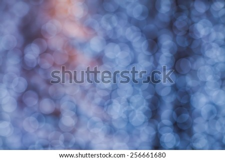 bokeh effect background of decoration on backdrop for wedding party - stock photo