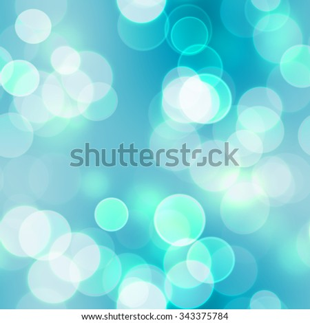 Bokeh effect  with light background