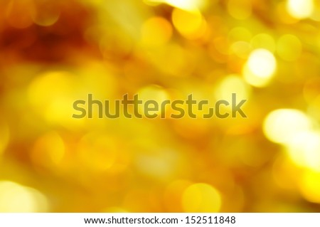 bokeh gold vivid color background