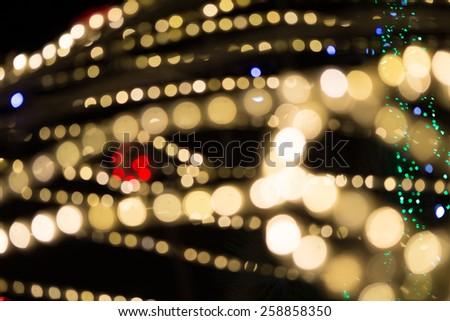 Bokeh light  - stock photo