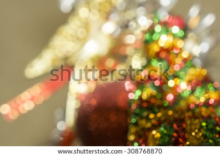 bokeh light blurred cerebration cerebrate glitter golden  - stock photo