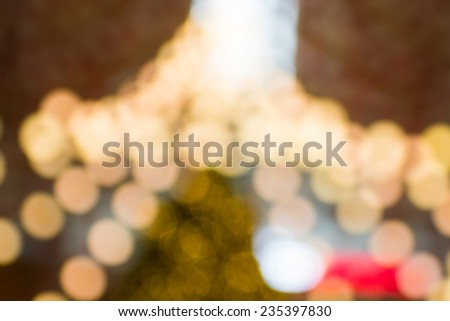 Bokeh light for decoration pattern or background - stock photo