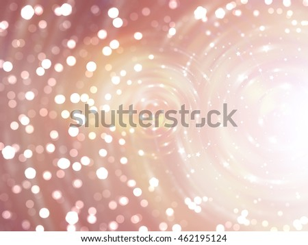 Bokeh light orange abstract background.