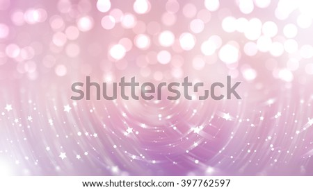 Bokeh light pink abstract background.