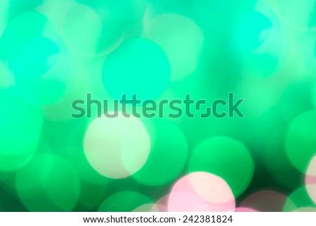 Bokeh lights - stock photo