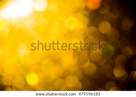 bokeh lights defocused effect lens. abstract background