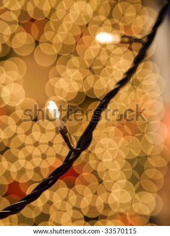 Bokeh pattern - stock photo
