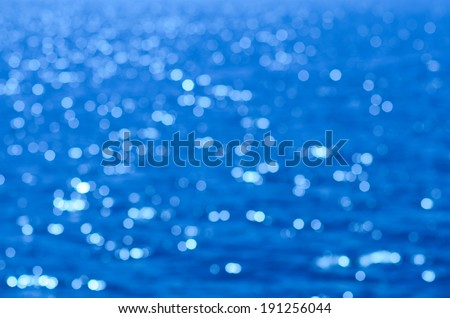 Bokeh sea , Surface bokeh