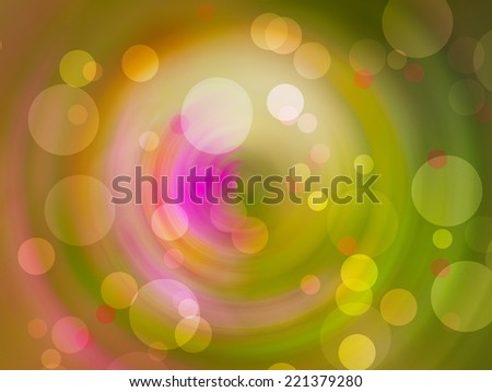 Bokeh spin background