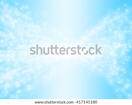 Bokeh star on blue vintage background, space background
