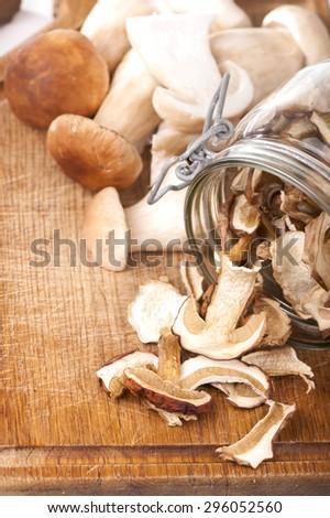 Boletus mushroom  - stock photo
