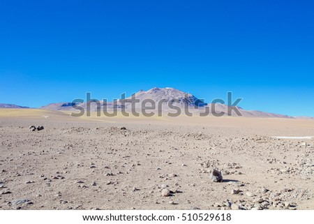 BOLIVIA MOUNTAINS