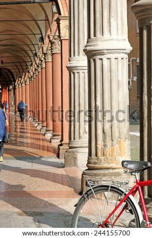 Bologna Emilia Romagna Italy - stock photo