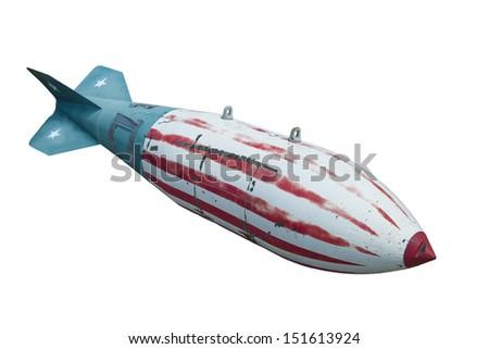 bomb - stock photo