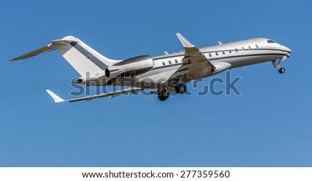 Bombardier Global 6000 - stock photo