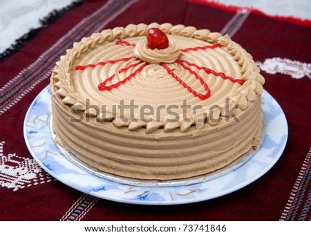 Bombay Coffee Cake - stock photo