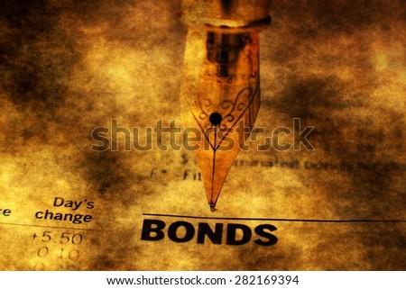 Bond indices - stock photo
