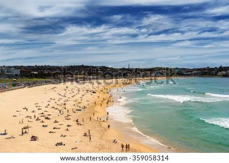 Bondi Beach in Sydney - stock photo