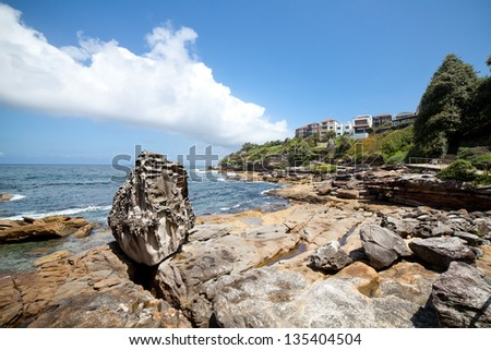 Bondi Beach, Sydney, Australia - stock photo