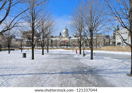 Bonsecours Market, Montreal, Canada - stock photo