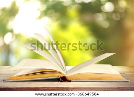 Book. - stock photo