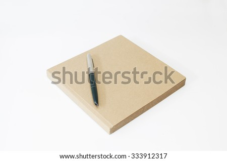 book isolate whit background