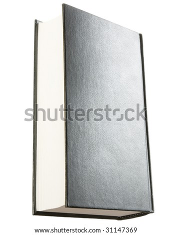 Book isolated on white background